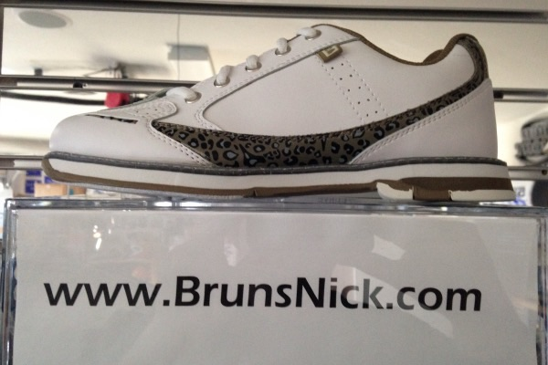 Brunswick Curve White/Leopard