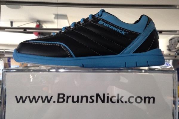 Brunswick Diamond Black/Ice Blue